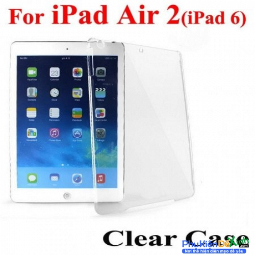 Ốp Lưng Silicon trong suốt cho Ipad 6