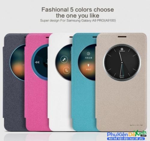Bao Da Samsung Galaxy A9 Pro Nillkin Sparkle