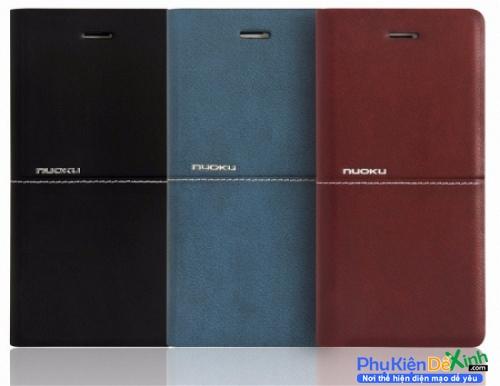 346da3e264 Bao Da Samsung Galaxy S7 Edge Hiệu Nuoku Dạng Ví Cao Cấp