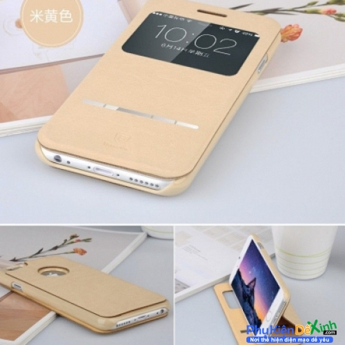 Bao Da iPhone 7 Plus Hiệu Baseus Leather Case