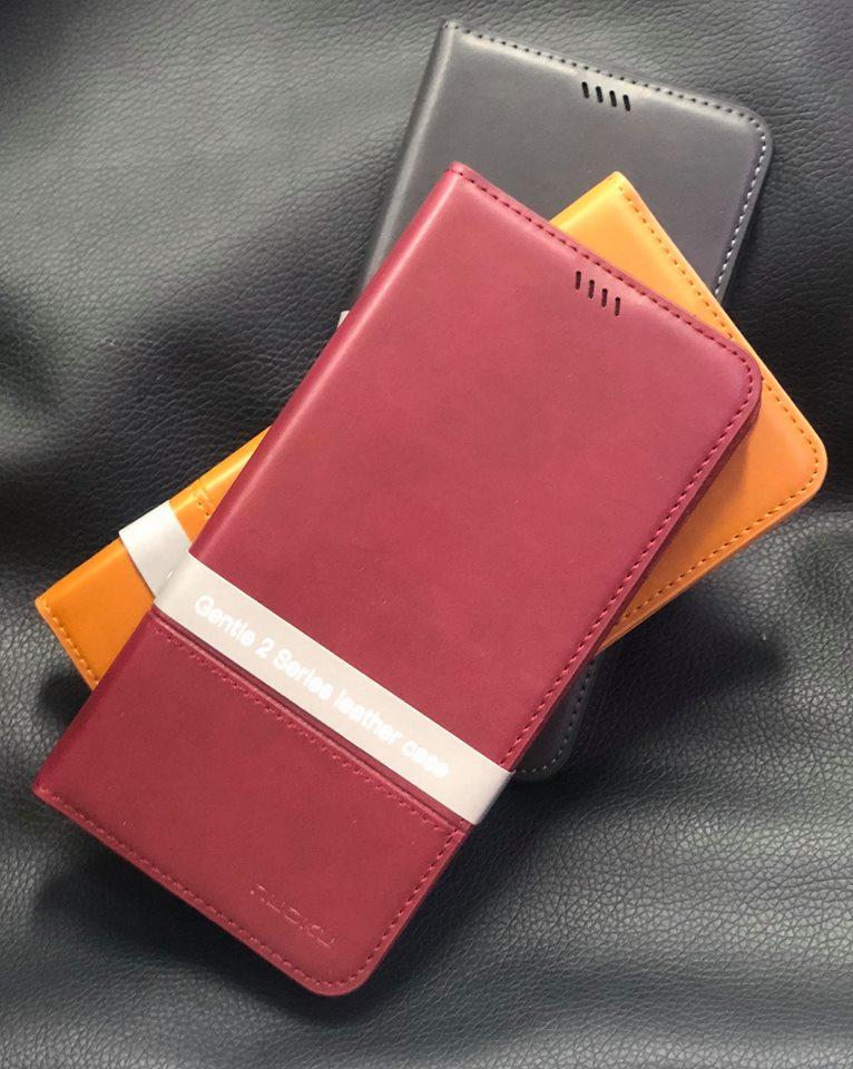 Bao Da iPhone Xs Max Dạng Ví Hiệu Nuoku Gentle Chính Hãng được làm hoàn toàn bằng da công nghiệp sản xuất tại Hongkong nên bên ngoài rất chắc chắn với gam màu sang trọng và nhã nhặn kiểu dáng sang trọng.