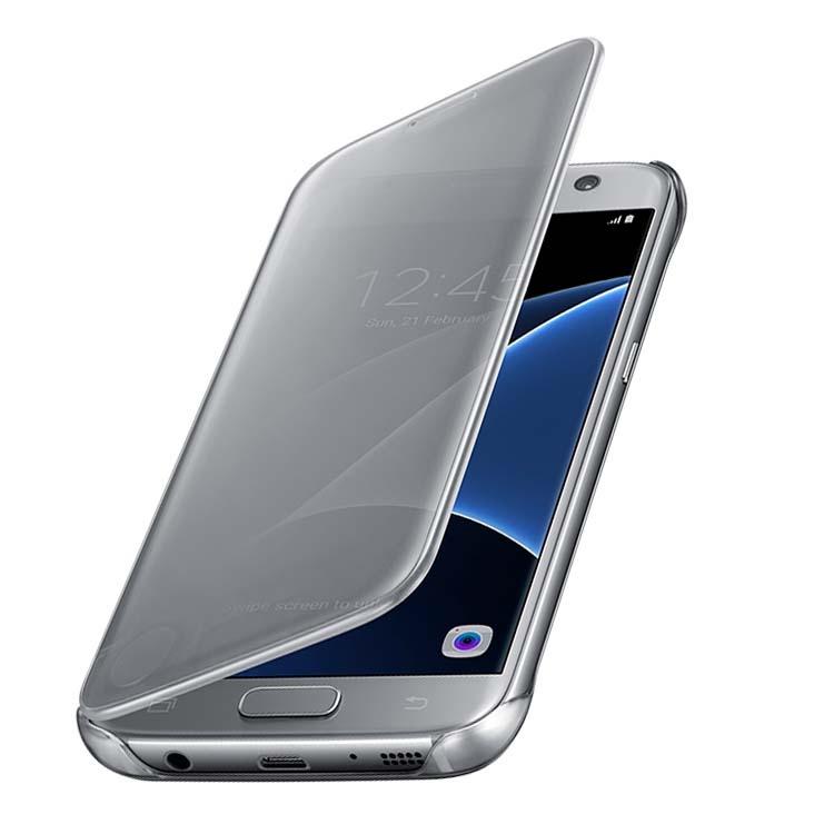 d5c8d34452 Bao Da Samsung Galaxy S7 Edge Clear View được bảo hành đến 3 tháng nên  khách hàng cứ yên tâm sử dụngĐịa chỉ cửa hàng   906 cách mạng tháng 8 . p5  . q.tân ...